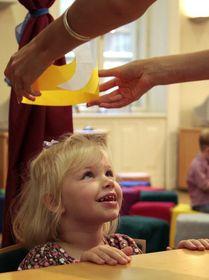 A kis királylány koronázása