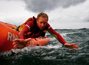 Nigel Millar: RNLI lifeguard rescue